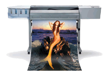 large format digital printing